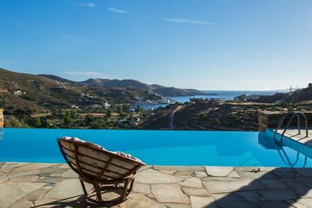 Kea Summer Villa, serene summer living in Kea/Tzia - Kea Kithnos