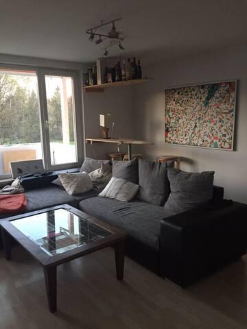 2-Zimmer Wohnung im Süden Münchens mit Balkon - Munich - Apartment