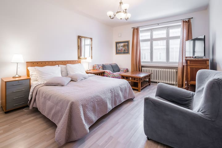 Bright, spacious room in downtown - Helsinki - Condominium
