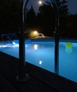 Belle Maison pierre avec piscine - Dieulivol - 独立屋