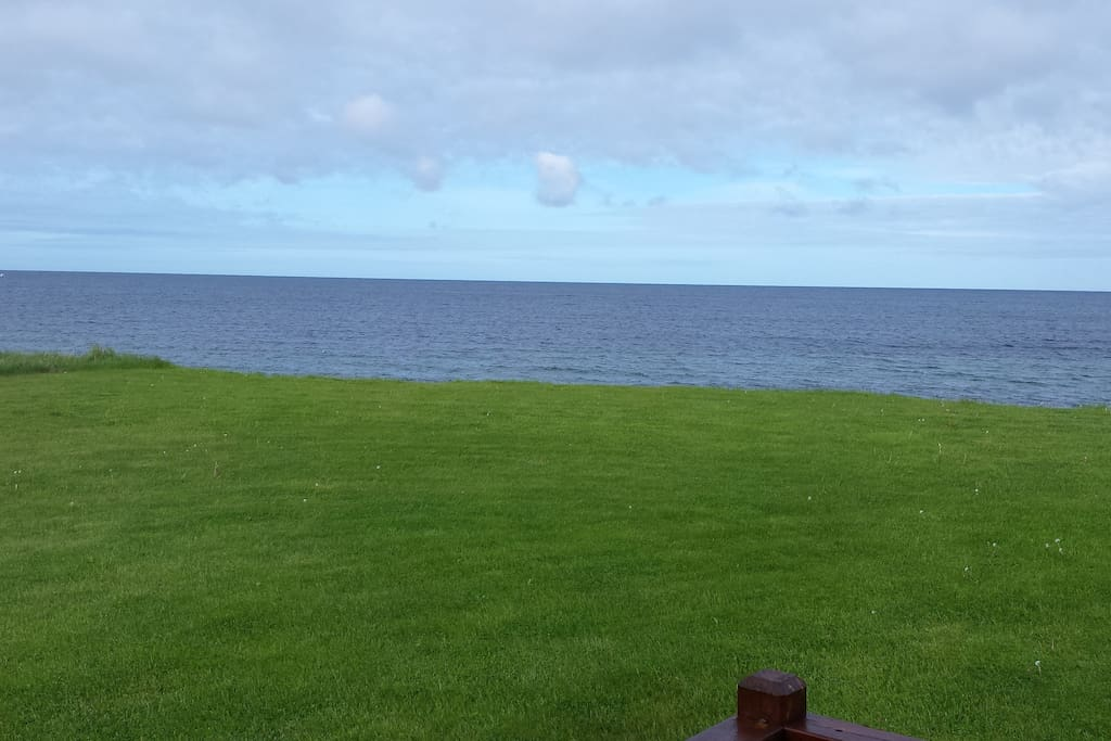 This is our gorgeous view from living and dining room. This view is also available  from ocean view room.