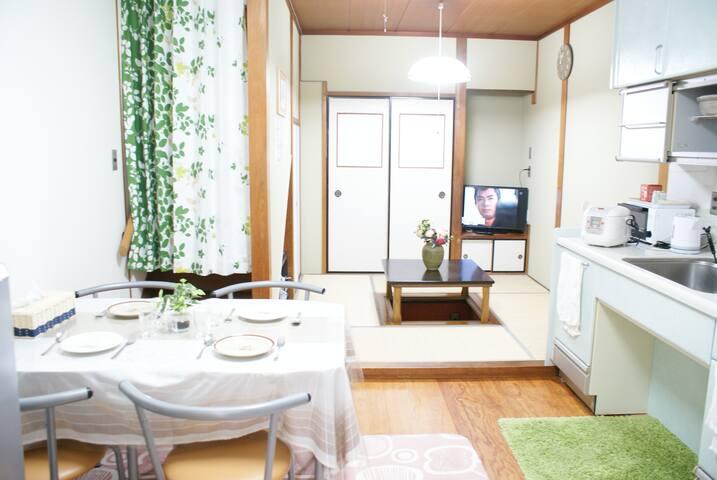 Japanese House,Dotonbori Namba 8PPL+wifi+parking