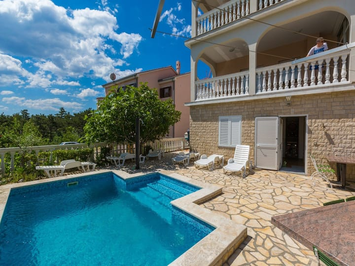 Five bedroom House, in Crikvenica, Outdoor pool