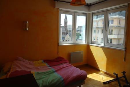 Grand F2 calme, proche centre avec garage - Rouen - Apartment