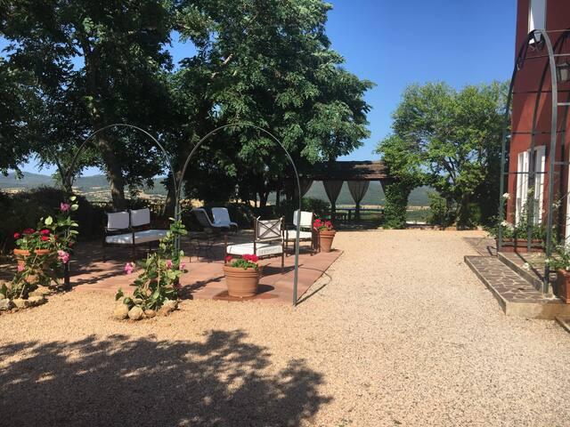 Villa con piscina a Capalbio