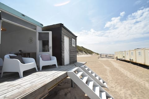 Modern strandhuis in Castricum aan Zee aan de kust