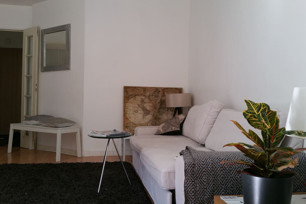 Appart a issy apartments for rent in issy les moulineaux for Canape french translation