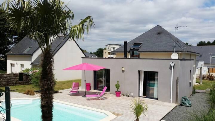 Maison avec piscine (proche Lorient)