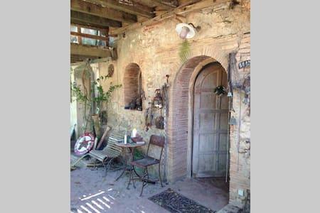 Chambre avec vue dans mas du 16eme siecle - Salses-le-Château