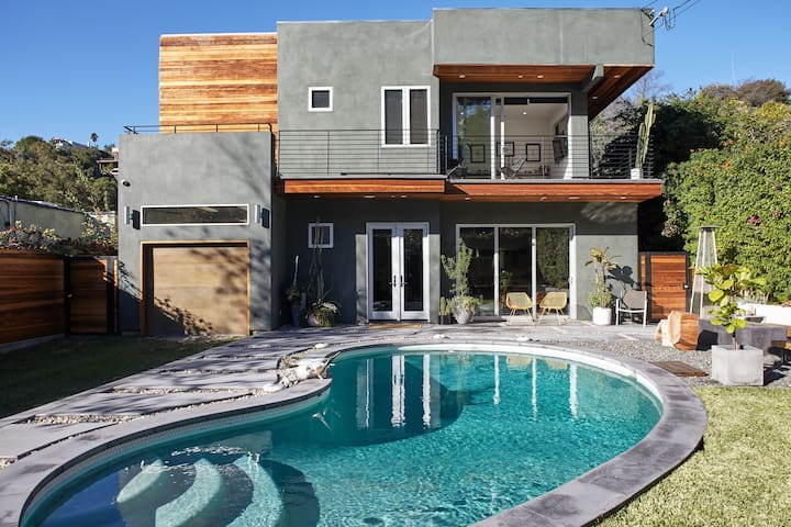 Contemporary Hollywood Hills Home