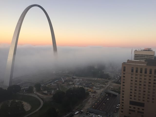 Penthouse- Best view in the Lou - St. Louis - Lakás
