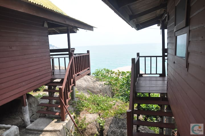 Double Bed Fan Bungalow  with Ocean View 105