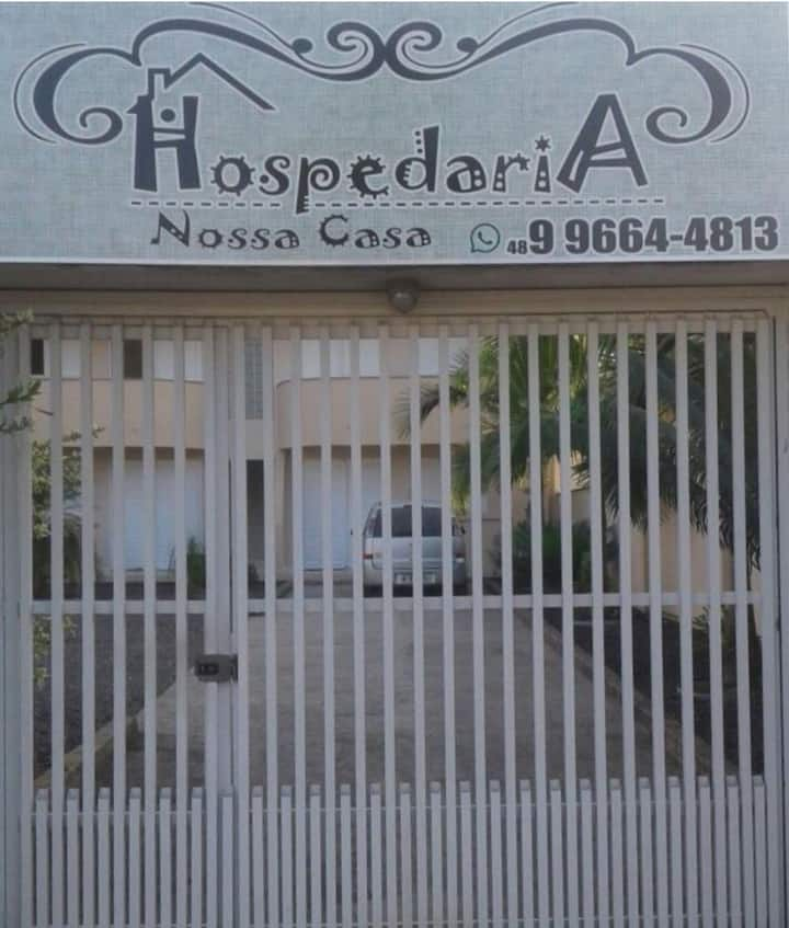 Hospedaria Nossa Casa, para seu descanso
