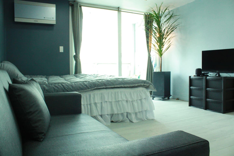 크고 따뜻한숙소!! 베스트 아파트먼트 입니다 부산 여행지 어디든 갈수있는 서면