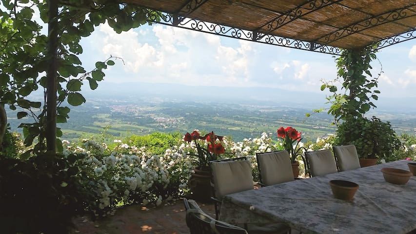 Tuscany with View for Two - Loro Ciuffenna - Apartment