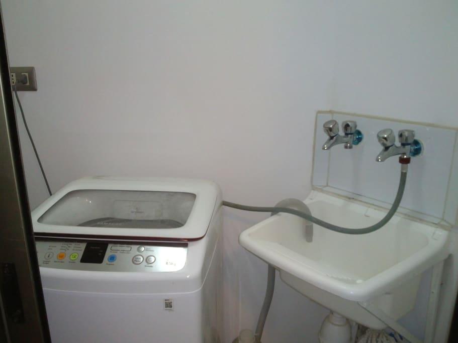 Lavado automático y manual.