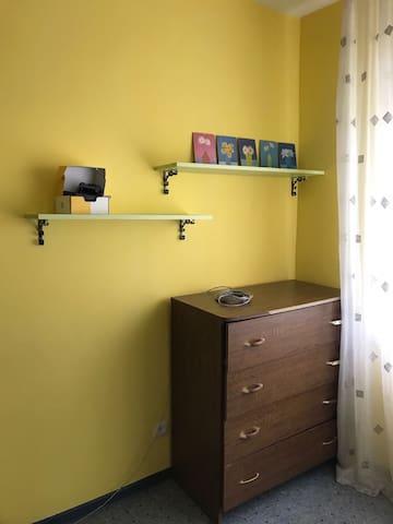 Апартаменты с двумя спальнями Yellow mood