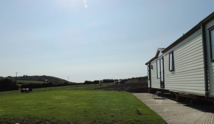 Polstain Farm Mobile Home in Cornwall.