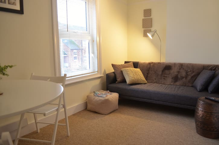 Walk into Oxford City from this Stylish Apartment.
