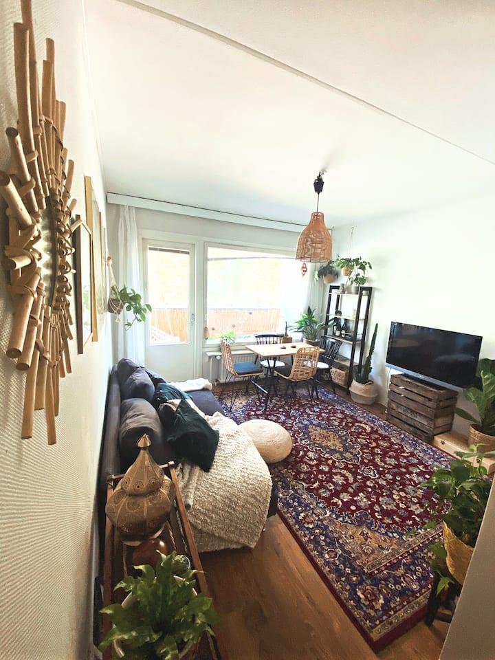 Cozy 37m² home in central Turku✨