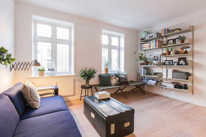 65m2 cool, cozy and spacious close to city center - Aarhus - Apartment