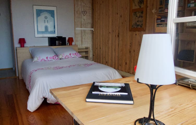 l'Atelier, chambre indépendante - Castelnau-Barbarens