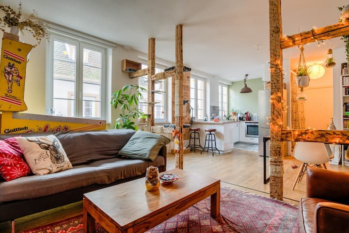 ☆Appartement Atypical and charming ☆