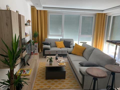Logement neuf spacieux cosy 90m2 - Quartier sympa