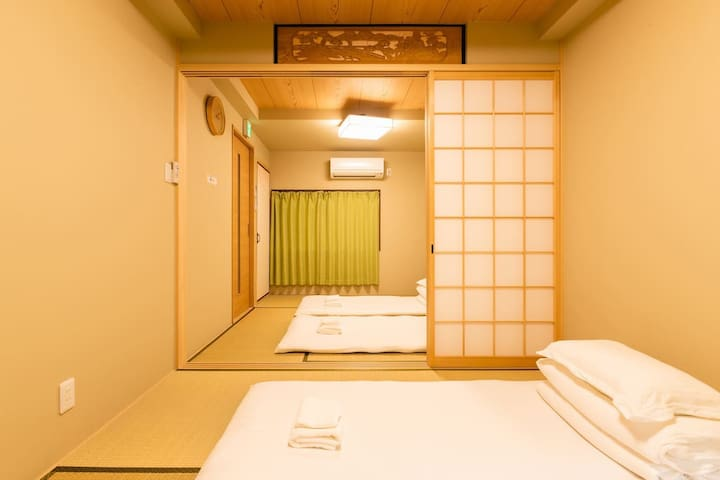 【Airdream】Osaka Guiyue Villa★Max 6ppl★Shinsaibashi