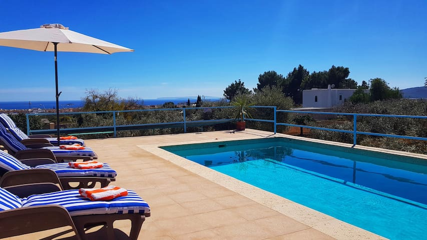Finca IBIZA Can Blanca- Sea View -Playa den Bossa-