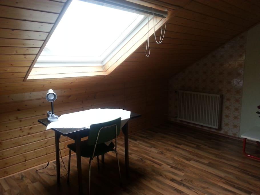 20qm helles zimmer mit eig wc nahe d sseldorf reihenh user zur miete in mettmann nordrhein. Black Bedroom Furniture Sets. Home Design Ideas