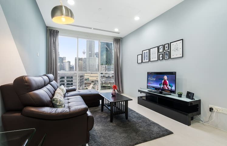 Binjai8#3: City-Home-Suites, 6 min to Suria KLCC