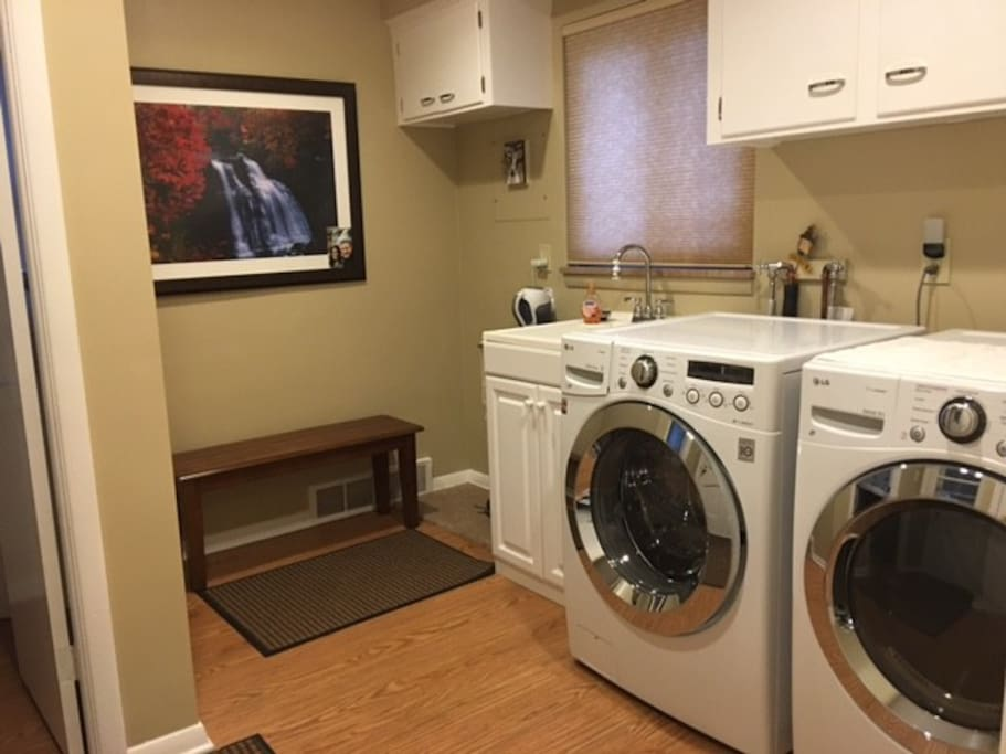 I've come to love the high efficiency front  loading loading washer and dryer.