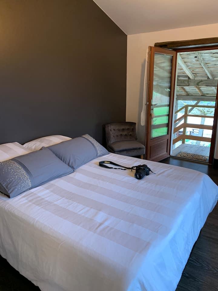 Suite 2 chambres dans belle demeure Girondine