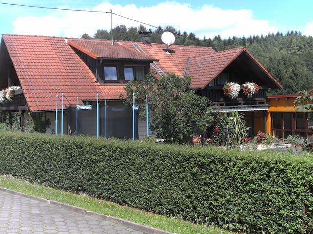 Ferienwohnung in der Natur - Obertrubach - Apartament