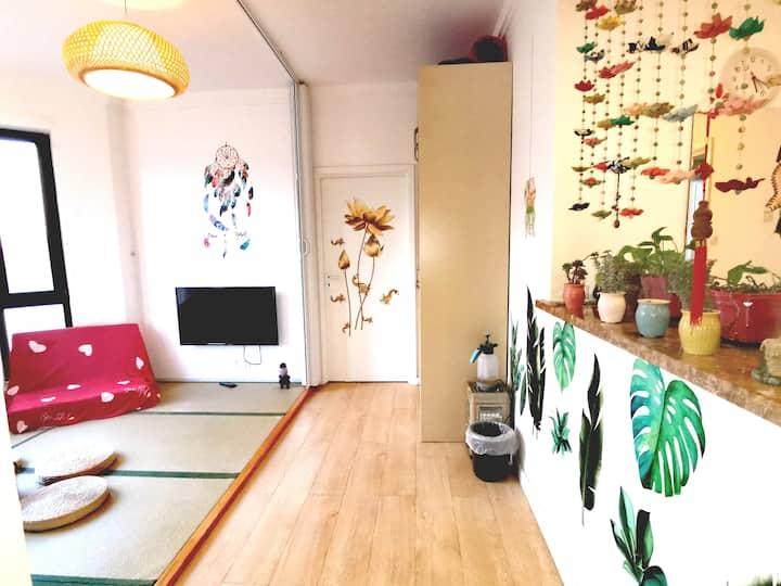 五龙山景房金海24小时温泉宽敞明亮温馨小屋