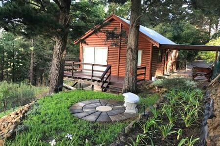 Fynbos Cottage, Log Cabbin, Boutique Wine Farm - Le Cap - Cabane