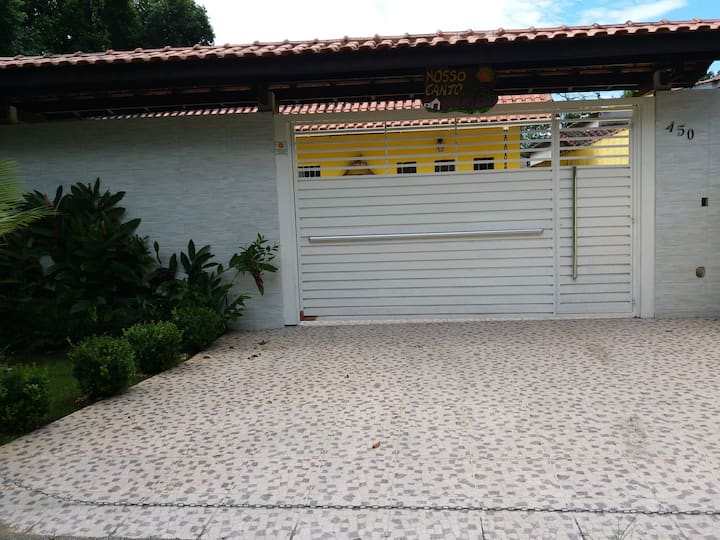 Casa espaçosa e aconchegante em Boracéia