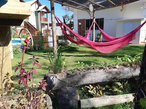 Refugio Para Casal, Chalés do Bosque em Bombinhas
