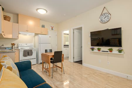 Spring Break! Awesome Private Apartment - Burnaby - Huis