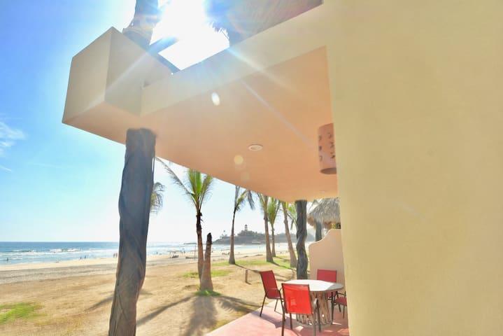 2 Bedroom Ocean FRONT Villa @ Cerritos Surf Town