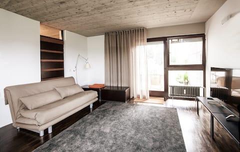 Apartment with unique views over Biberach