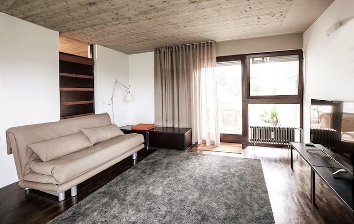 Apartment mit einmaliger Aussicht über Biberach