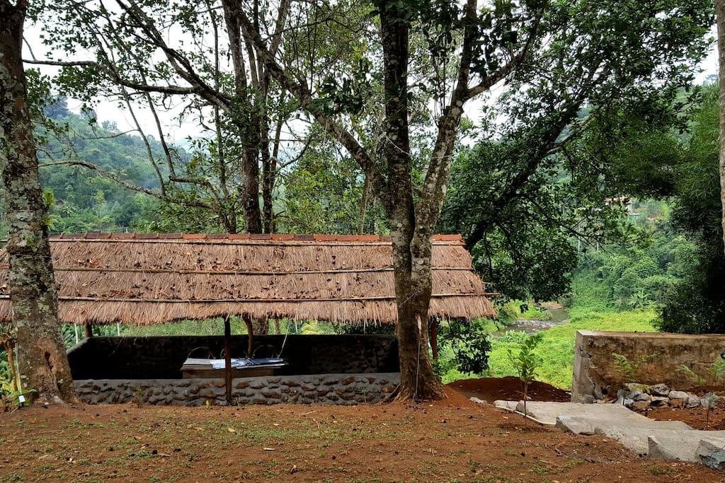 Nature's hut