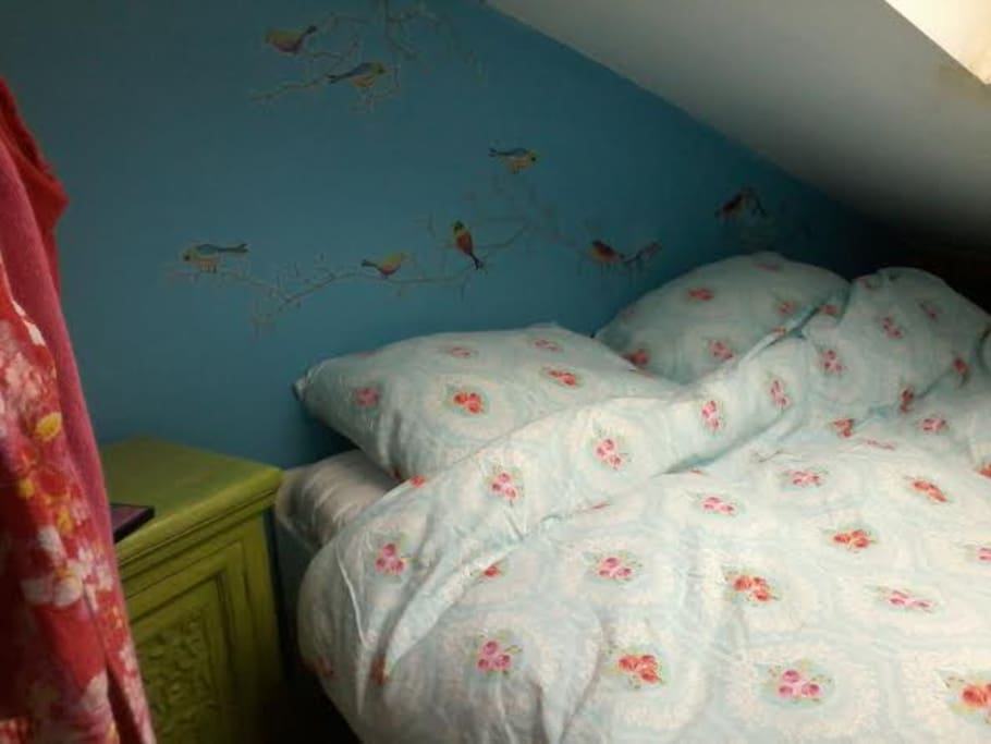 King size bed 160 mtr.