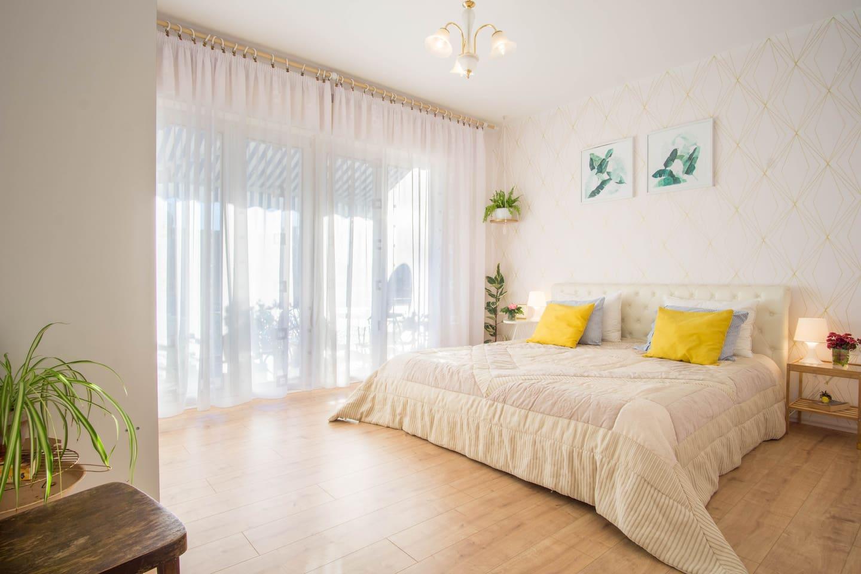Sleeping room nr. 1 with balcony