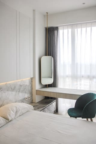 Luxury one bedroom @ taman melati depok