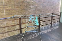 wash clothes hanging rack