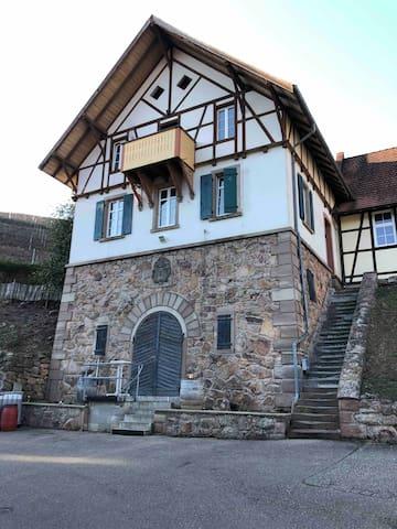 Durbach -Tagen und Übernachten im Gruppenhaus