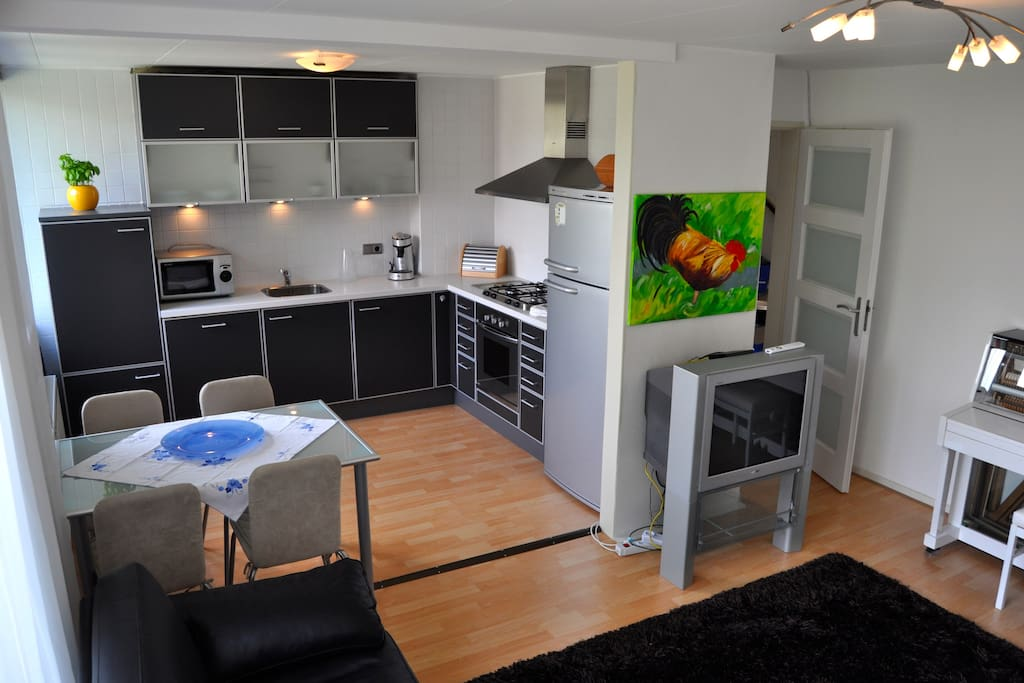 """Kitchen from the living room """"Ilonka"""""""